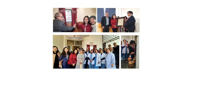 अग्नि फाउन्डेसनद्वारा शिक्षण अस्पताललाई सहयोग