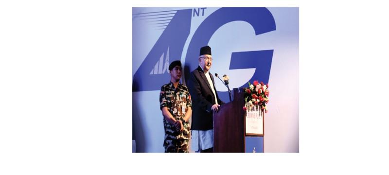 नेपाल टेलिकमको फोरजी-एलटीई सेवाको नेटवर्क सातै प्रदेशमा विस्तार