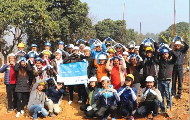 मेट लाइफद्वारा पुनर्निर्माणका लागि सहयोग