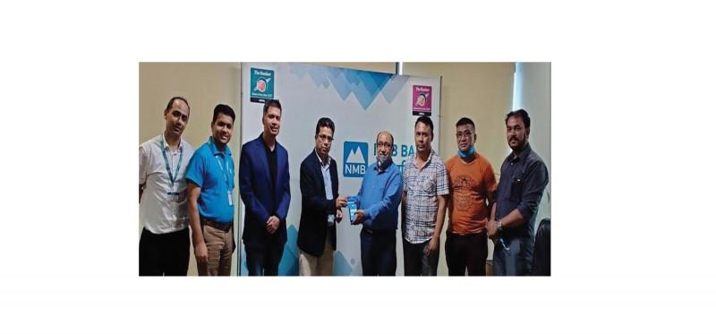 एनएमबी बैंक र एन–क्लाउडबीच डिजिटल भुक्तानी सम्झौता
