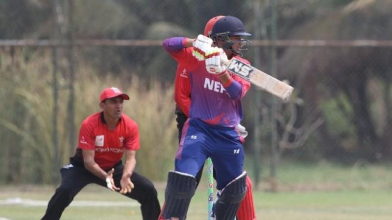 टी २० क्रिकेट: लगातार दोस्रो खेलमा नेपाल पराजित